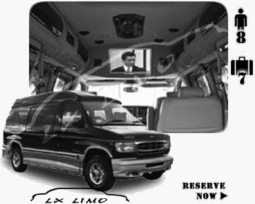 Luxury LimoVan in Montreal | Montreal Limovan rental