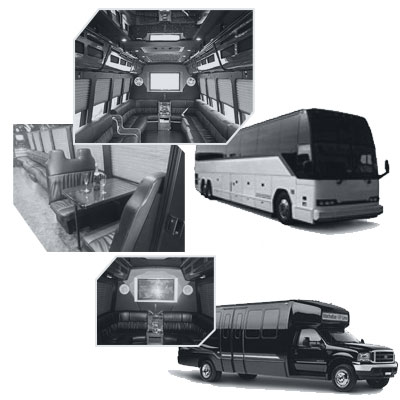 Party Bus rental and Limobus rental in Montreal, QC