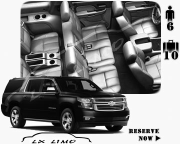 SUV Suburban for hire in Montreal