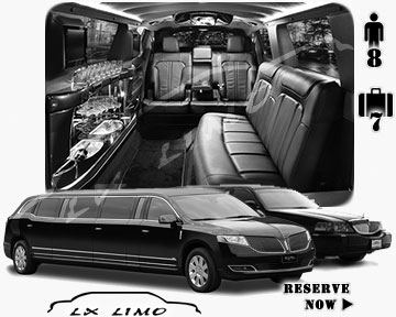 Stretch TownCar Limo for hire in Montreal