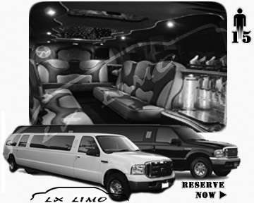 Lincoln Excursion SUV Montreal limousine tour